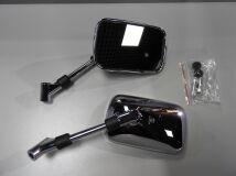зеркала универсальные Honda Suzuki Kawasaki прямоугольные хром HONDA   купить по цене 1500 р.