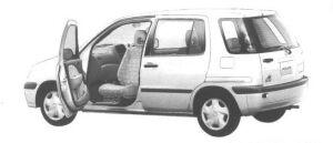 Toyota Raum  1998 г.