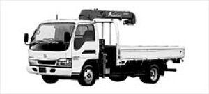 Nissan Atlas 20 TRUCK WITH CRANE, 2.3T 3-LEVEL LIFT 2003 г.