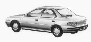 Subaru Impreza 4WD HARD TOP SEDAN 1.6L CS 1993 г.