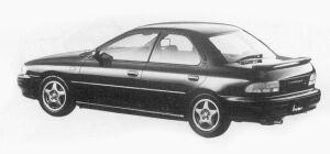 Subaru Impreza 4WD HARD TOP SEDAN 1.8L HX EDITION-S 1993 г.