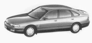 Mazda Efini MS-6 P.W.S. DIESEL TYPE G 1993 г.
