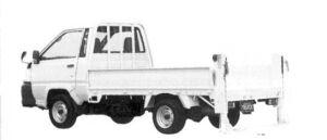 Toyota Liteace Truck Power Lift Car 2004 г.
