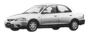 Mazda Ford Laser 1500 DOHC FE 1997 г.