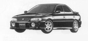 Subaru Impreza PURE SPORTS SEDAN WRX 1999 г.