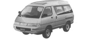 Toyota Townace Wagon 4WD Super Extra 2.2D Turbo 1995 г.
