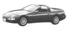 Nissan Fairlady Z Convertible 300ZX 1995 г.