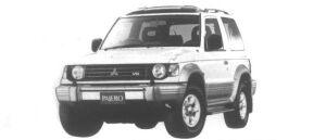Mitsubishi Pajero MetalTop Wide ZR-II 1995 г.