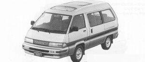 Toyota Masterace Surf SUPER TOURING 2000EFI 1991 г.