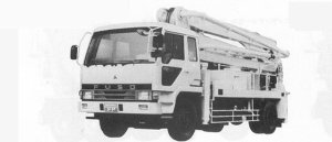 Hino Super Dolphin FS MIXER 1991 г.