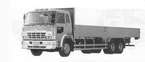 Hino Super Dolphin FR 11.5T 1991 г.