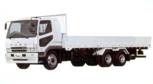 Mitsubishi Fuso Fighter 10-ton, 6X4 Rear 2-axle, Heavy Duty Truck 2005 г.