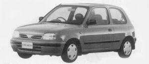 Nissan March 3DOOR 1000F# 1996 г.